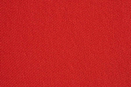 Red fabric texture background close up Archivio Fotografico