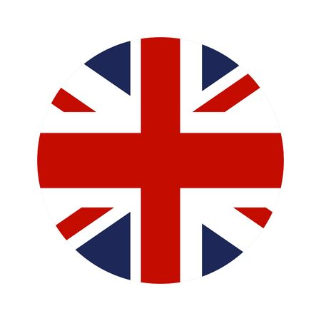 United Kingdom Nation Flag vector illustration.