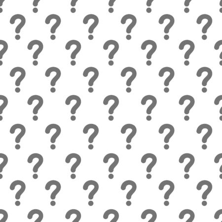 Questions marks seamless pattern background.