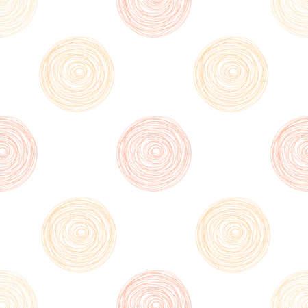 Colorful Polka dot seamless pattern background.