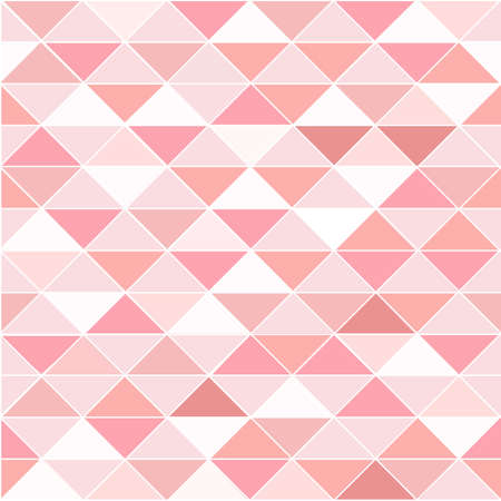 Abstract pink triangles seamless pattern background.