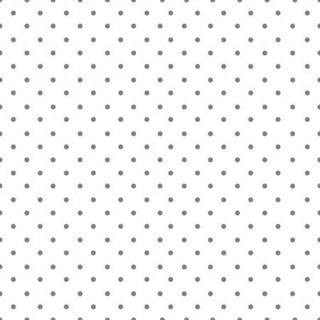 polka dot seamless pattern on white background. Banque d'images - 152794411