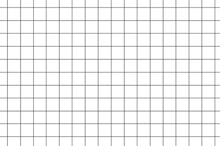 Checkered notebook paper seamless pattern background.