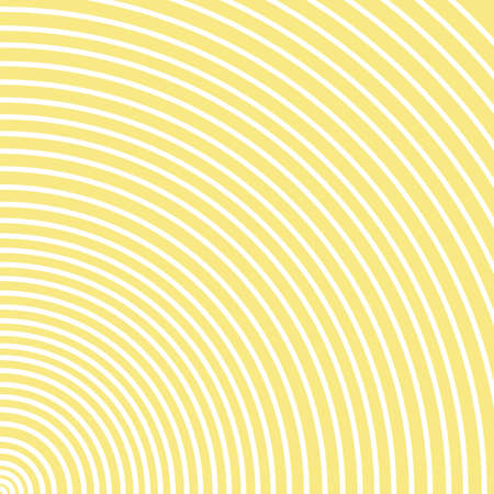 Abstract yellow circle spin background. Banque d'images - 152794452
