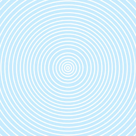 Abstract blue circle spin background.