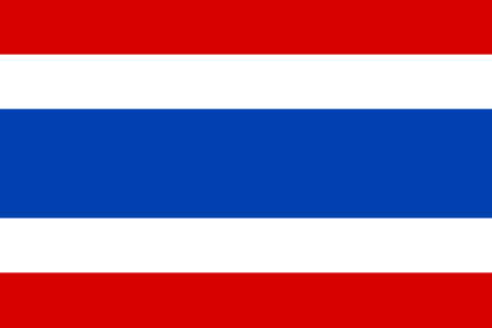 National Thailand flag background. vector illustration Illustration
