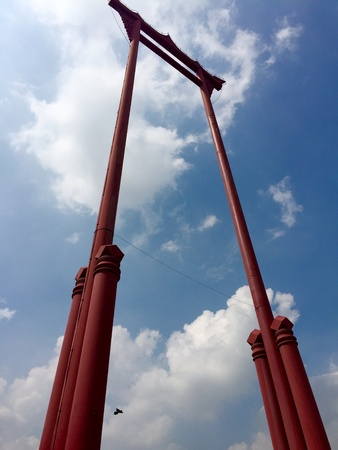 giant: Giant Swing in Bangkok, Thailand