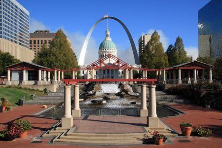 missouri: St Louis city landmark,