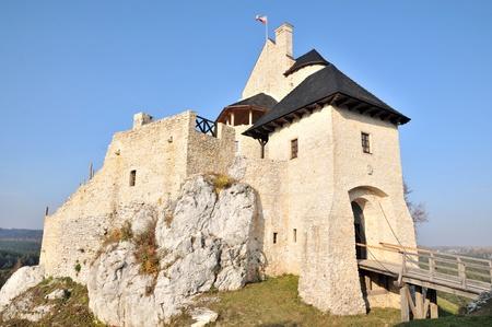 bobolice: Bobolice castle. Poland. Editorial