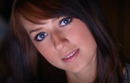 Auburn-haired woman. Stock Photo - 11282626