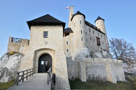 bobolice: Bobolice castle. Poland. Stock Photo