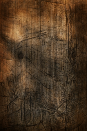 Old scratched wooden background or texture Stock Photo - 22198255