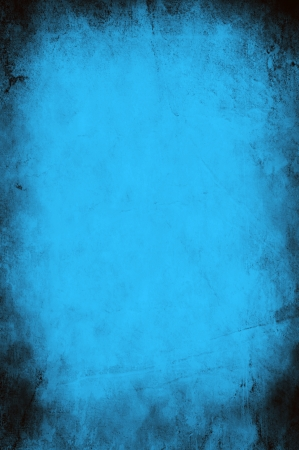 Grunge blue paper background or texture - christmas or valentines theme photo