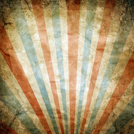 Dirty retro striped background photo