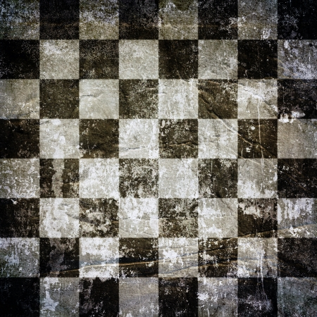 Very old grunge chess background or texture