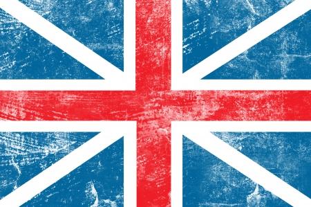 flag background: Grunge England flag background