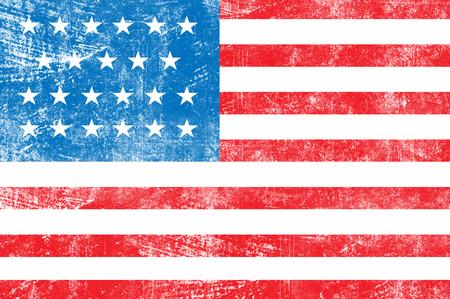 us grunge flag: Grunge USA flag background