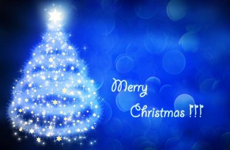 blue christmas lights: blue christmas background