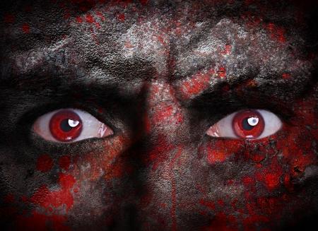 뱀파이어 얼굴 스톡 콘텐츠