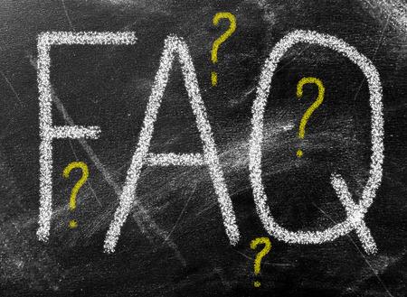 FAQ word on school board photo