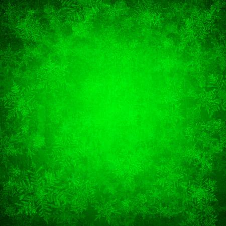 iceflower: Sfondo verde di Natale