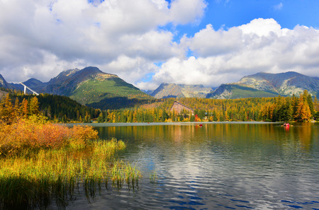 tatry: Autumn in Tatry mountains Stock Photo