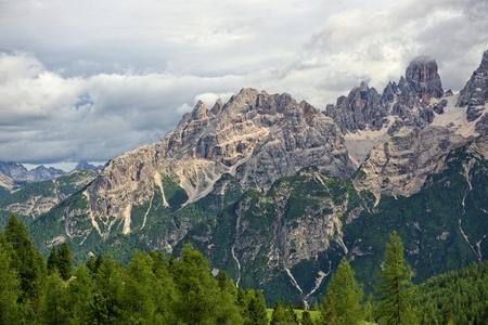 sella: Italian alps landscape