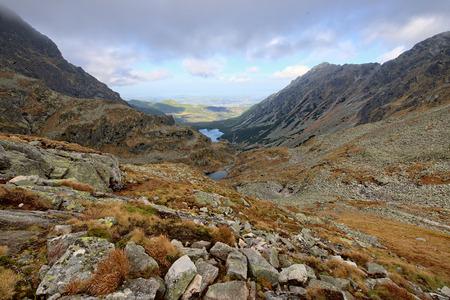 mnich: Autumn in Tatra mountains