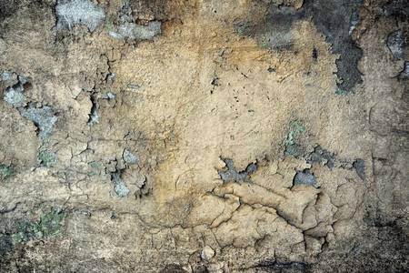 Old damaged grunge wall background or texture 免版税图像