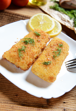 chese: Fish fillets with chese
