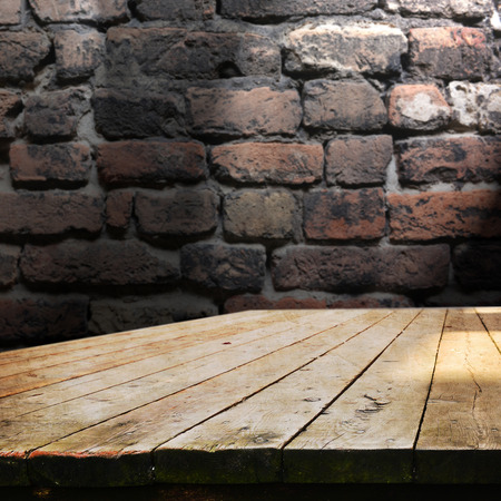 Lege tafel voor product-display, onatges Stockfoto - 37474146