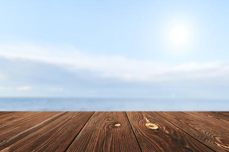 디스플레이 몽타주 빈 테이블