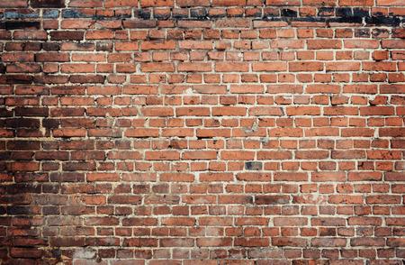 ladrillo viejo, pared de fondo