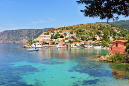 Assos beach, Kefalonia, Greece