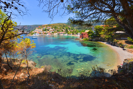 kefalonia: Assos beach, Kefalonia, Greece