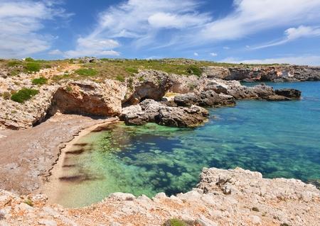 cefalonia: Greece coastline landscape Stock Photo