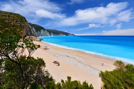 kefallonia: Fteri beach in Keflaonia- Greece