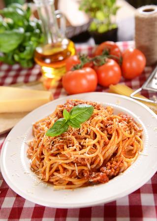 spaghetti sauce: Spaghetti bolognese