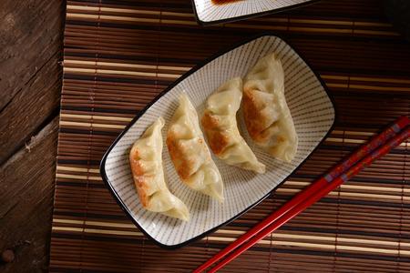 gyoza: Japanese gyoza dumplings