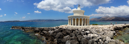 Landscape of Lighthouse of St. Theodore at Argostoli, Kefalonia, Ionian islands, Greece