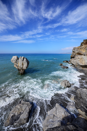 Mediterranean sea landscape Stock Photo
