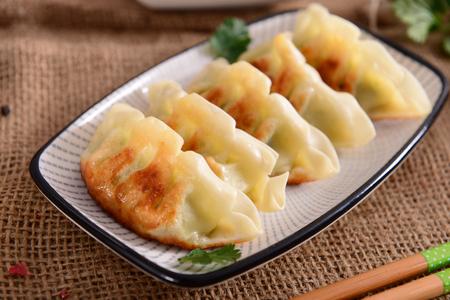 Gyoza dumplings Stock Photo