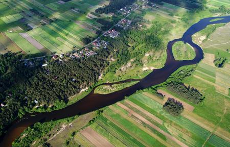 Luchtfoto landschap