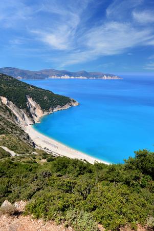 isles: Myrtos beach - Kefalonia, Greece