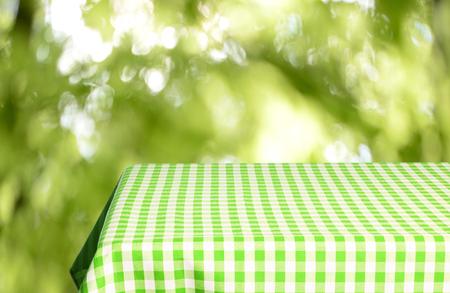 Empty table background Stock Photo