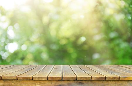 Empty table background Stock fotó