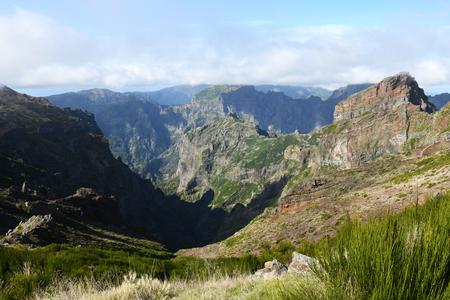 Landscape of madeira island - pico do arieiro Standard-Bild - 114120911