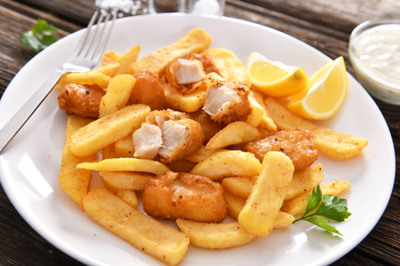 Fish and chips - fast food anglais traditionnel