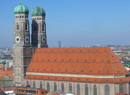 showplace: frauenkirche munich, showplace, hotspot of the city