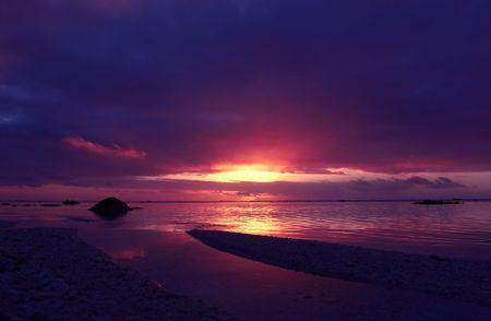 rarotonga: Tramonto a Rarotonga